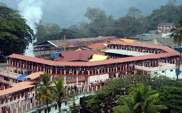 Makarajyothi. Sabarimala Ayyappa temple,Kerala