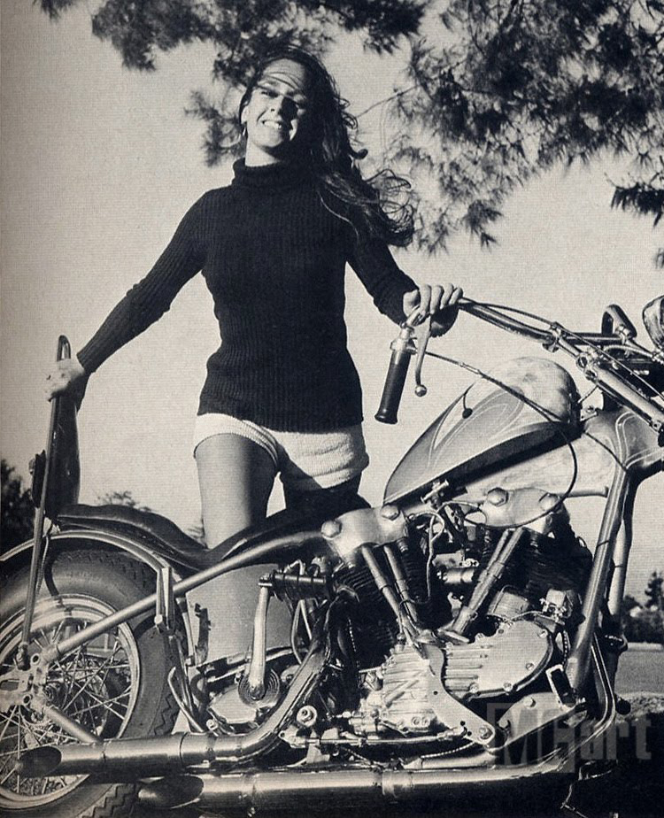 More vintage biker girls from the archives flesh relics - Pictures of chicks on bikes ...