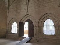 Acceso Sala Capitular Monasterio de Cañas