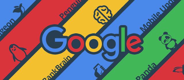 خوارزميات محرك البحث جوجل