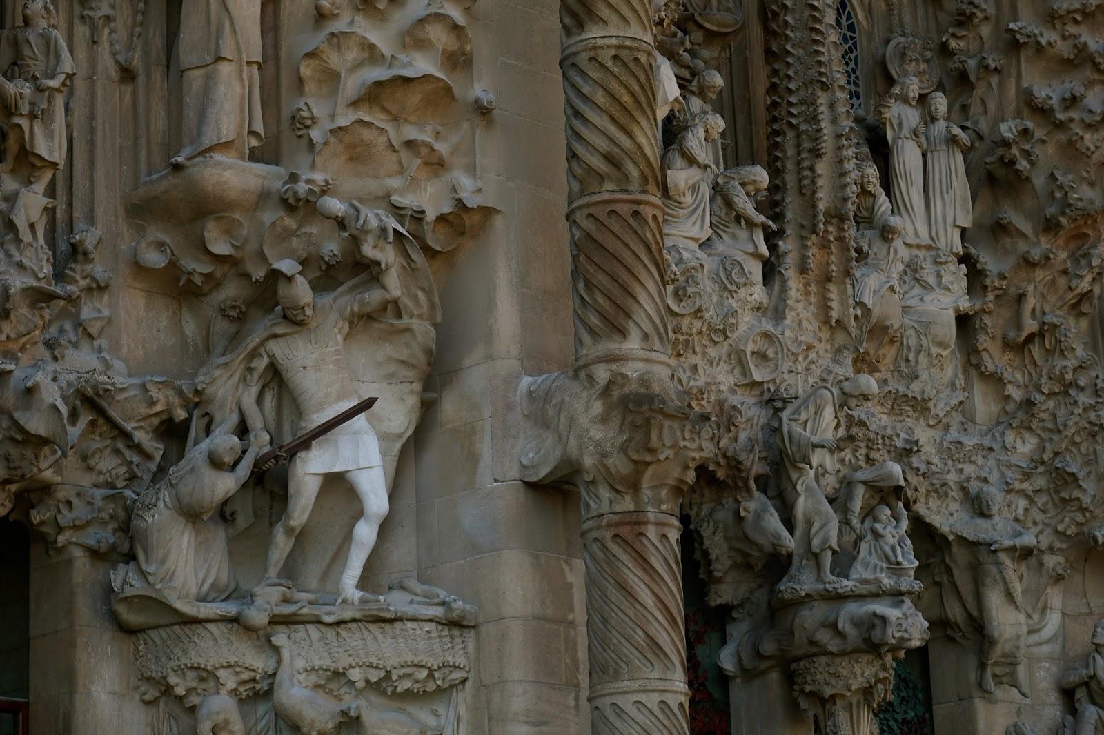 サグラダ・ファミリア (Sagrada Familia) (ヘロデ王の)幼児大量虐殺