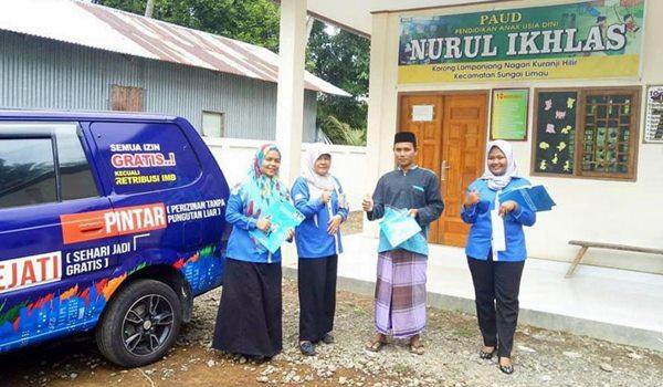 Program Ajep Padangpariaman Jangkau Wilayah Tapal Batas