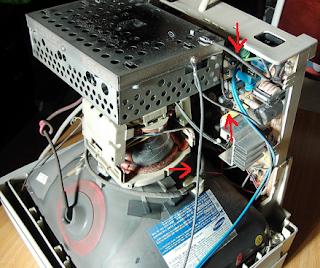 Conexiones de tierra monitor PC.