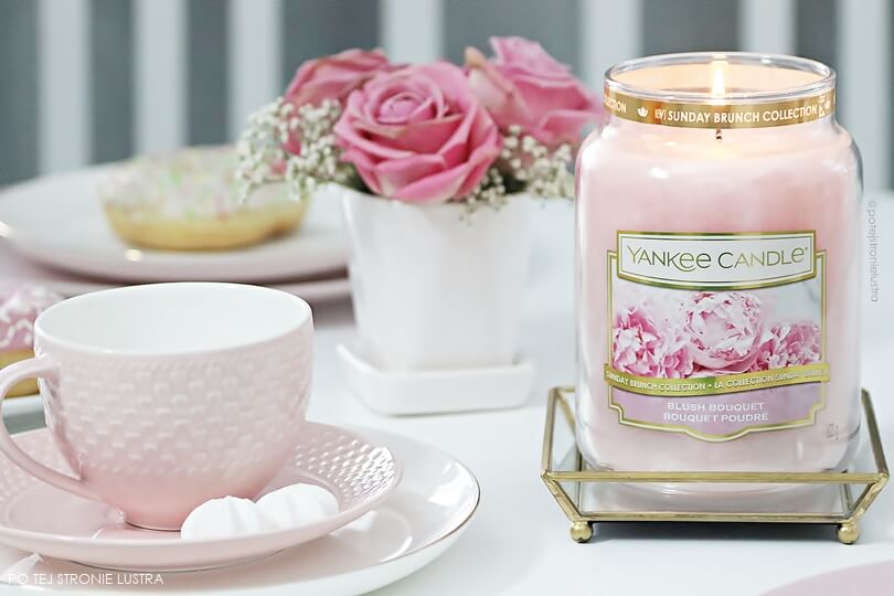 yankee candle blush bouquet z kolekcji sunday brunch