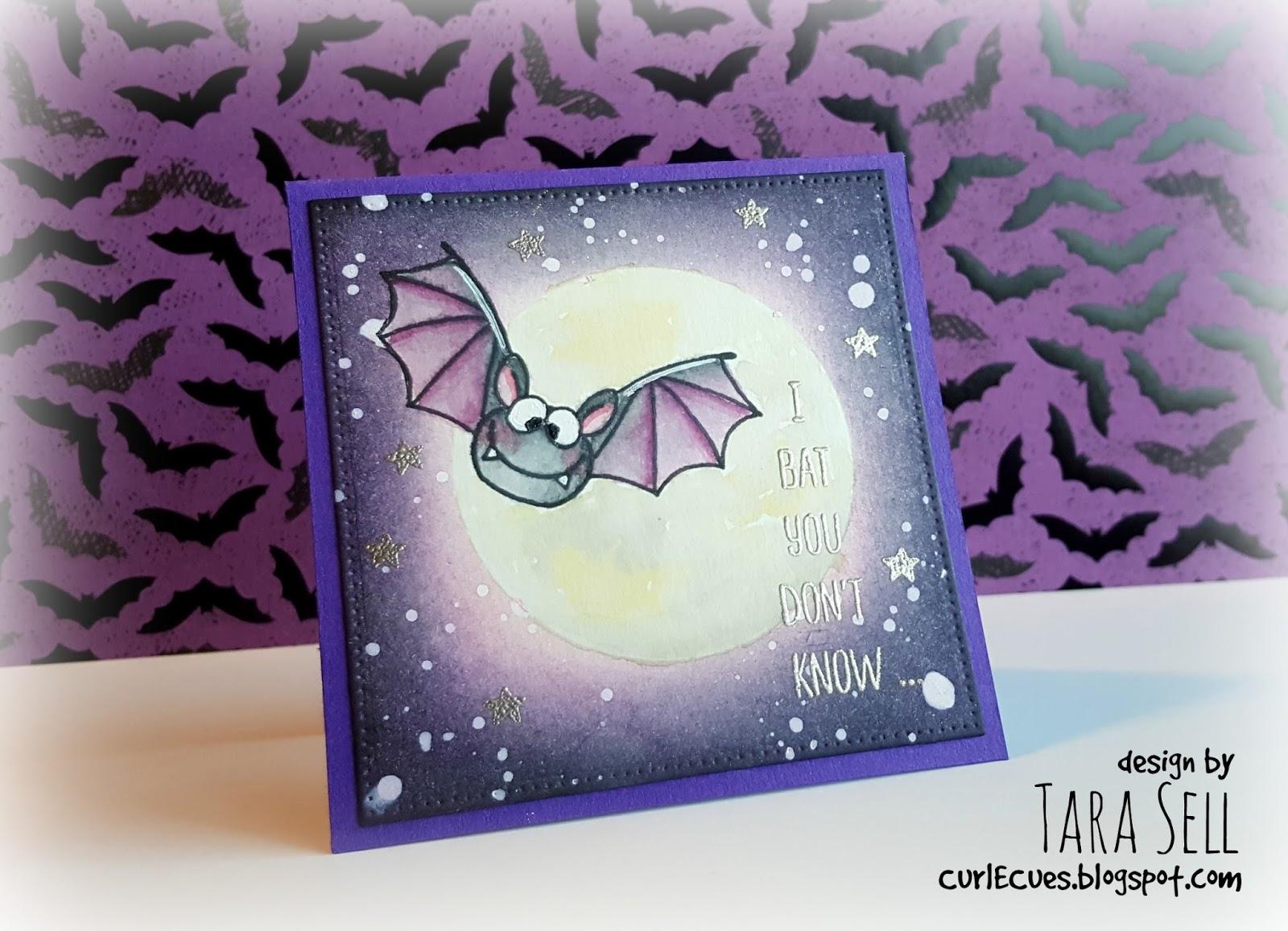 Gerda Steiner Designs: Creating A Moonscape Featuring Bats Halloween
