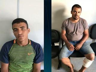 Dois homens são presos acusados de participar de roubo de botijões de gás