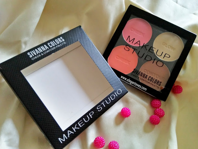 Sivanna Colors Makeup Studio Cheek & Contour palette