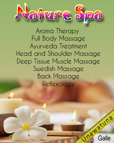 The Nature Spa | Massage center in Unawatuna