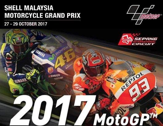 Nonton, MotoGP Malaysia 2017, Ini Jadwal Lengkapnya