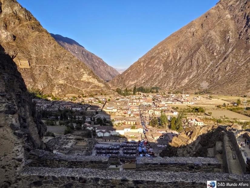 Parque Arqueológico de Ollantaytambo - Peru - City tour Vale Sagrado