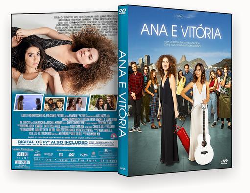 CAPA DVD – Ana & Vitória DVD-R