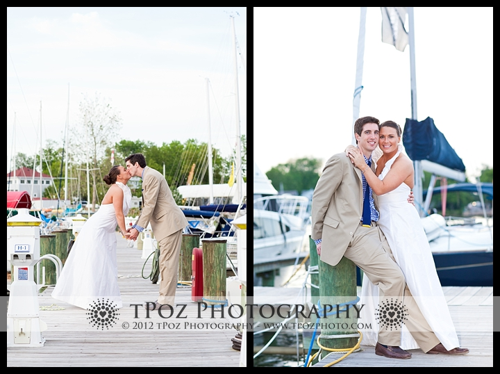Port Annapolis Marina Wedding Portraits