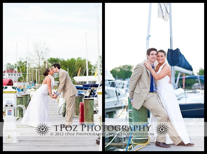 Port Annapolis Marina Wedding Portraits