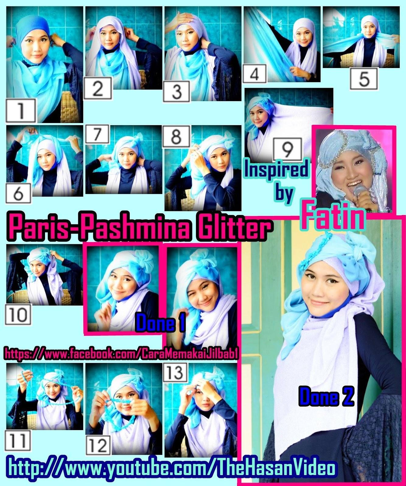 Tutorial Jilbab Untuk Hijaber Indonesia Tutorial Hijab Pashmina