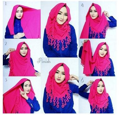 Inspirasi Cantik Berhijab Dengan Tutorial Hijab Modern Dan Stylish