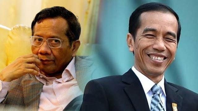 Ungkapan Mahfud MD Setelah Hatinya Diluluhlantakkan Jokowi
