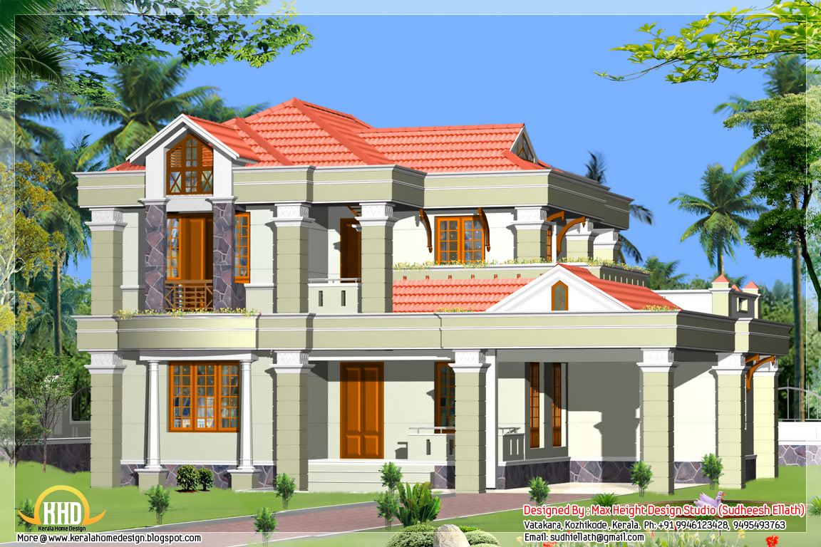 June 2012 kerala home design and floor plans for Beautiful house plans with photos