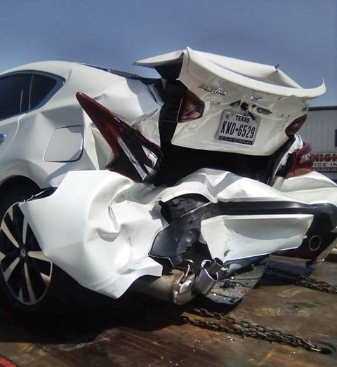 Boy Alinco of Papa Ajasco Involved in Accident with New Car