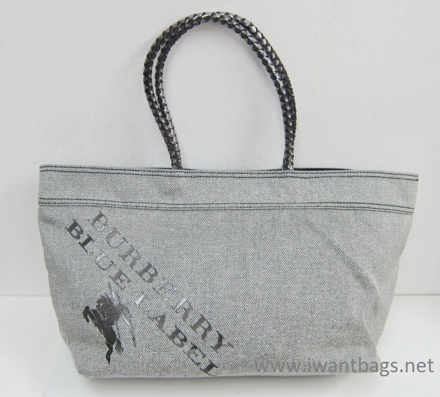 936c8ba75d36 I Want Bags backup  Burberry Blue Label Canvas Limited Edition Tote
