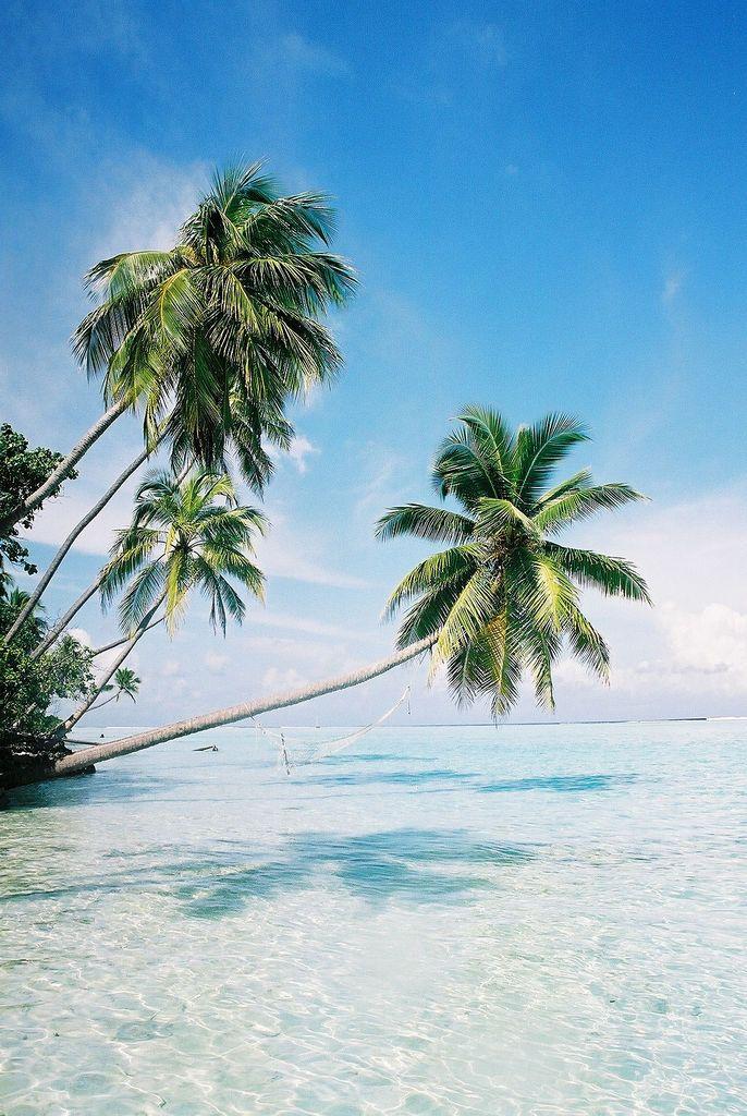 Playa de las  Maldivas.