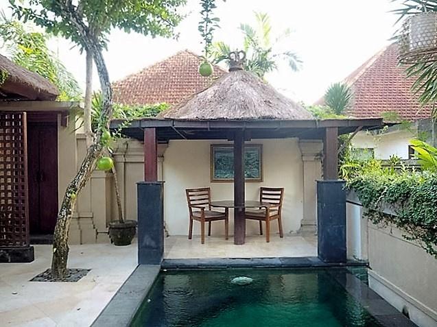 ubud village resort pool bali