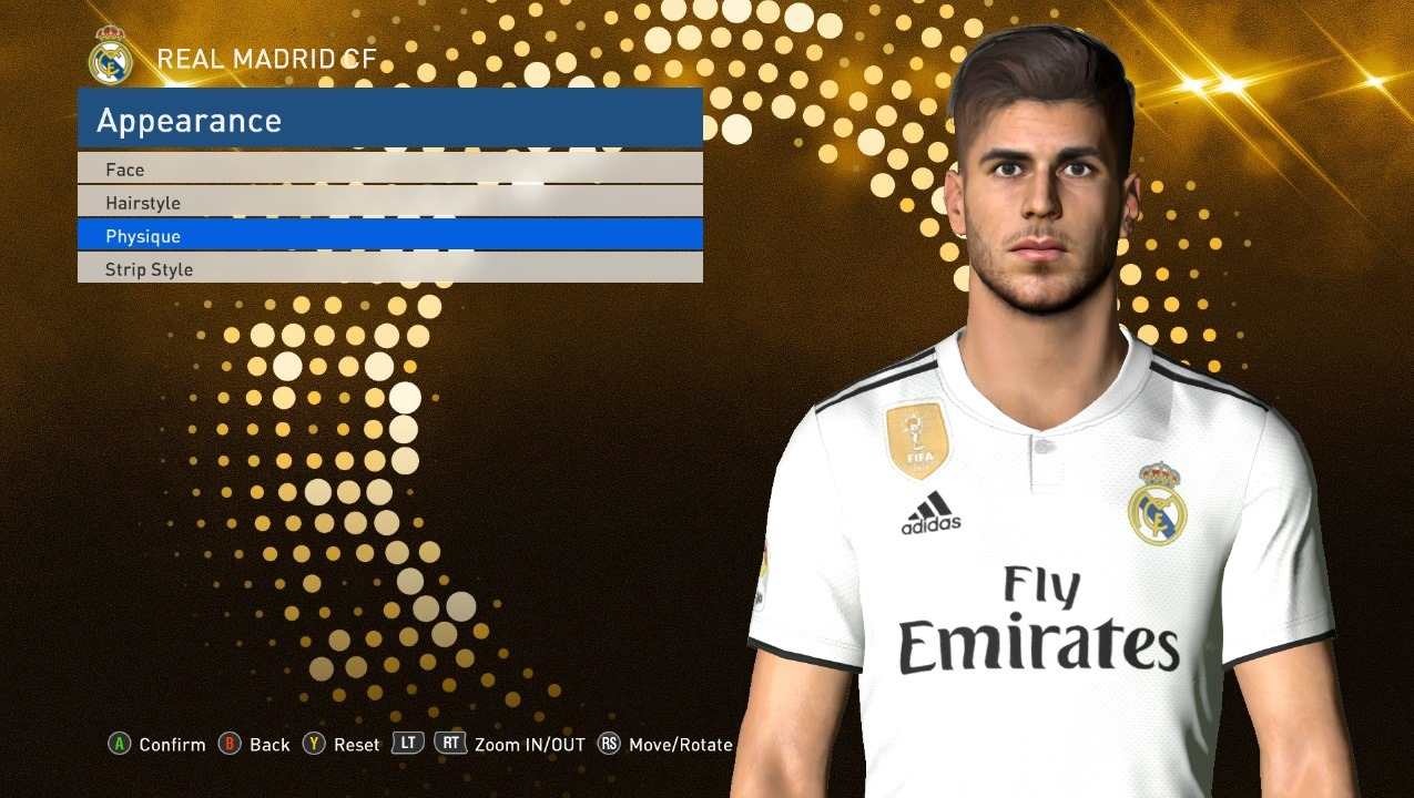 PES 2017 Marco Asensio face by Shenawy