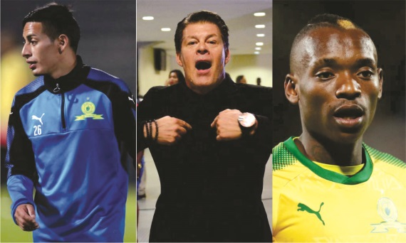 Gaston Sirino, Luc Eymael, Khama Billiat