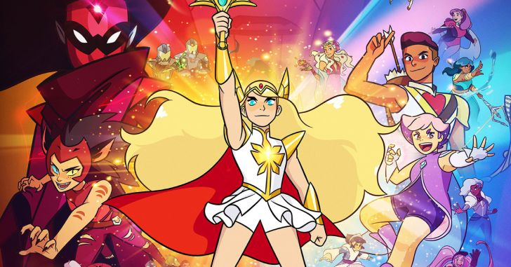 She-Ra e as Princesas do Poder netflix