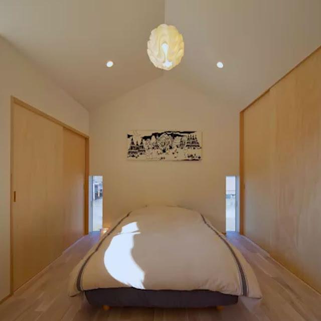 Open-air bedroom