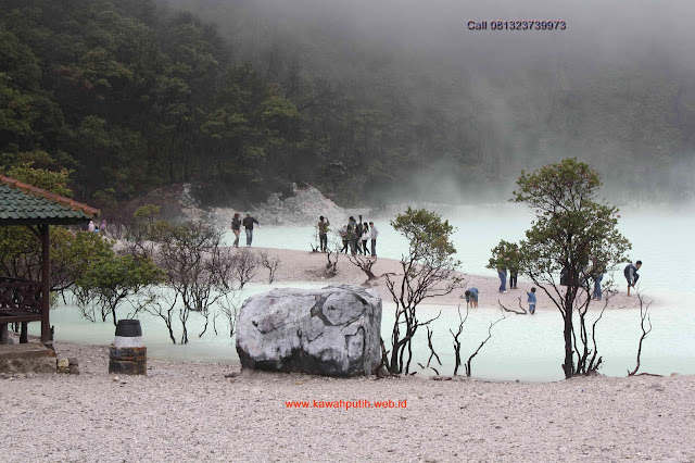 Kawah putih weather