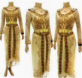 Foto Aksesoris Emas Baju Kebaya Trend Terbaru Modern Klasik