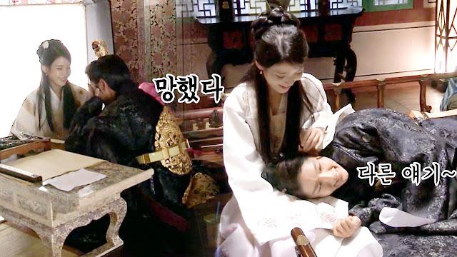 《月之戀人-步步驚心麗》第18集 韓國SBS版本 與 海外版本 差異比較