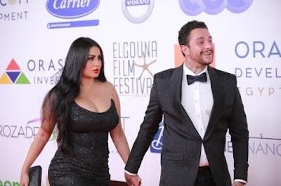 بالصور: أحمد الفيشاوي يحذر جمهوره من التواصل مع زوجته