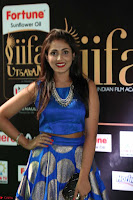 Madhu Shalini Looks Super Cute Slim trim Blue Choli Ghagra IIFA Utsavam Awards 32.JPG