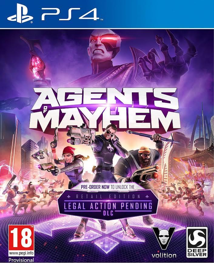 Agents of Mayhem presenta a la ingeniera Gremlin y sus poderosas armas