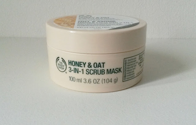 Masque Exfoliant 3-en-1 Miel et Avoine The Body Shop