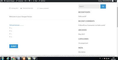 Menggunakan Website Wordpress Dalam Jaringan LAN