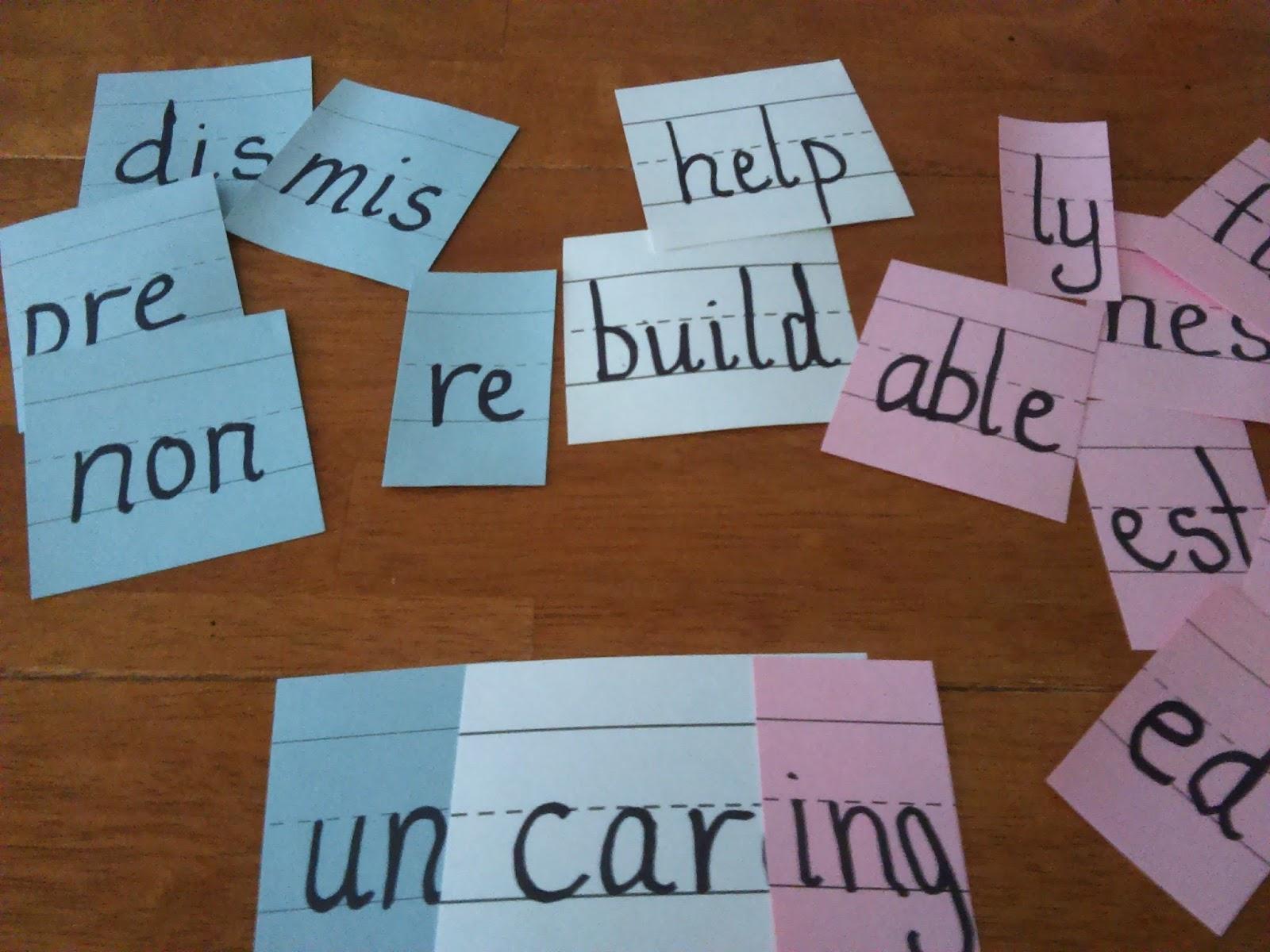 Base Words Lesson | Teacher\'s Take-Out | Bloglovin\'