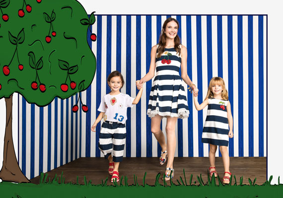 mini me dolce & gabbana collection for kids by federico leone