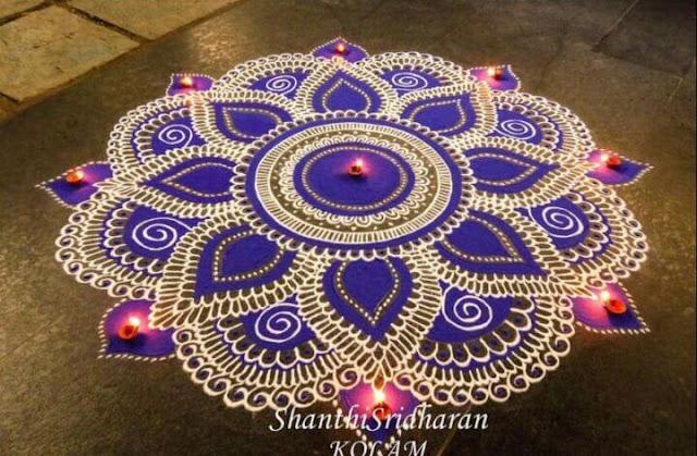 Collection of Creative Diwali Rangoli Designs