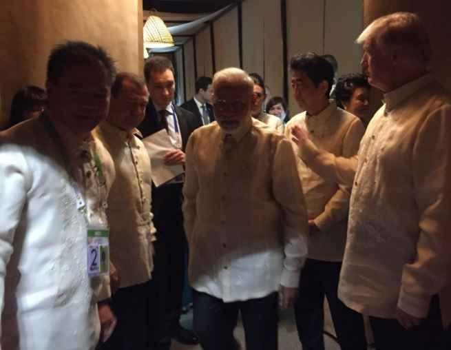 pm-narendra-modi-with-potus-donald-trump-and-world-leader