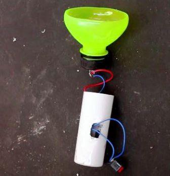 Cara Membuat Senter Saku dari Botol plastic dan Semprotan Parfum Bekas
