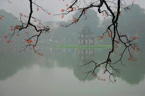 Hoan Kiem Lake in Spring