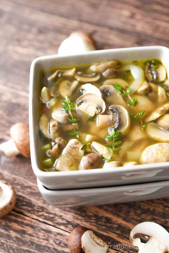 HEALTHY MUSHROOM SOUP #mushroom #soup #mushroomsoup #healthysoup #souprecipes #easysouprecipes