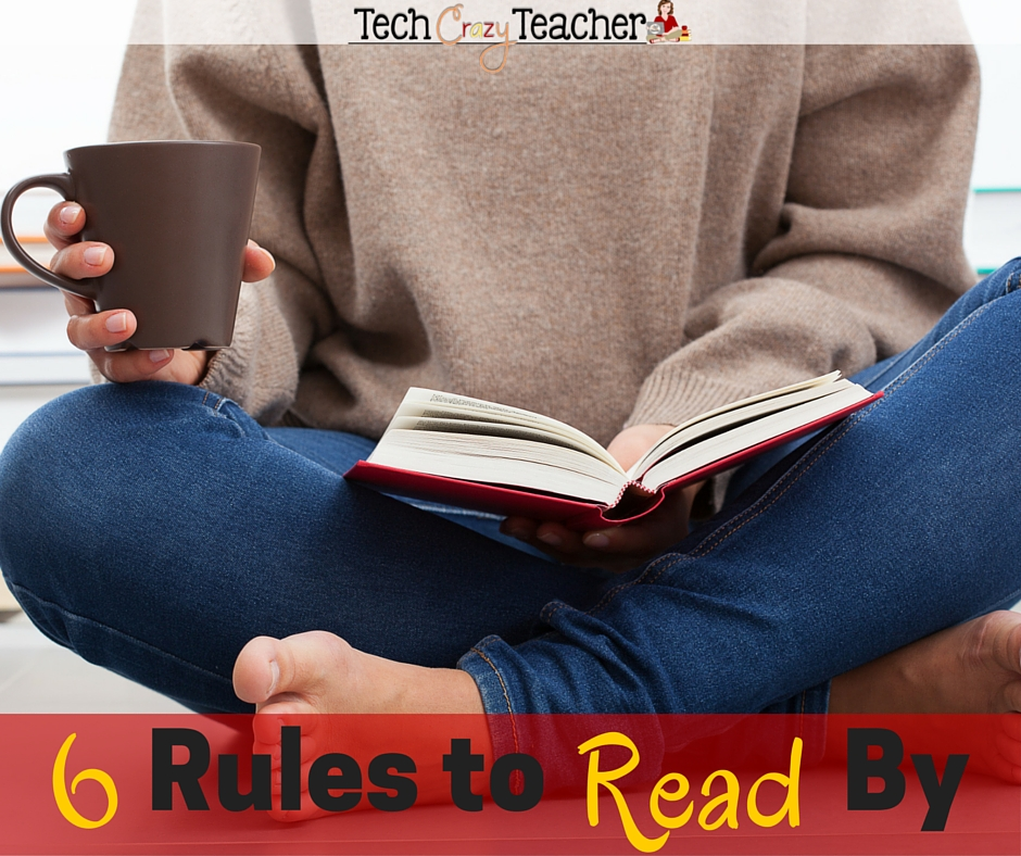 Are you a passionate reader? Do you have certain rules and guidelines that you follow when picking out a just-right book? Here are 6 rules to read by from one passionate reader to another.