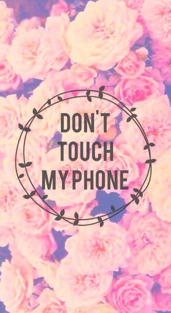 Pinkglic Beautiful Girly Phone Wallpapers Don T Touch My