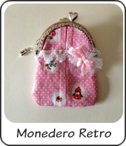 Monedero retro