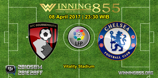 Prediksi Skor Bournemouth vs Chelsea 08 April 2017
