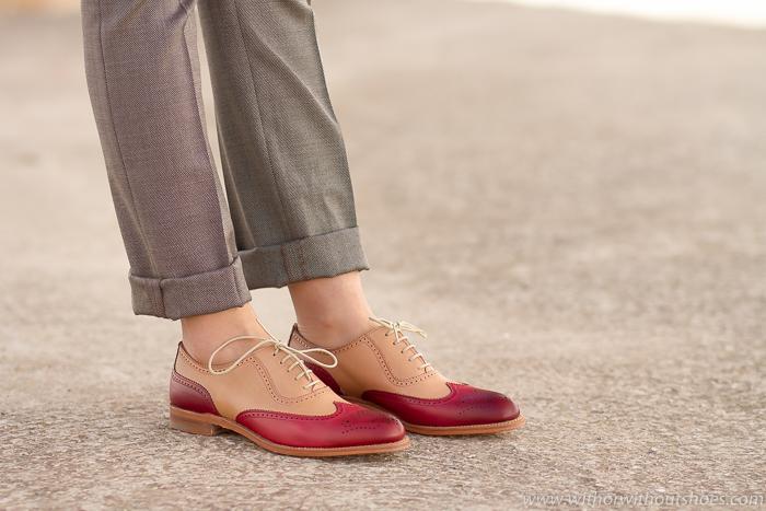Zapatos Bluchers  modelo Cambridge Inglés G1967 de LOTTUSSE