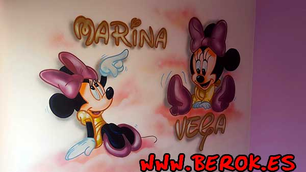 habitacion minnie mouse
